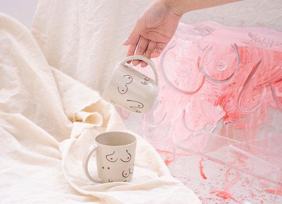Boob mug