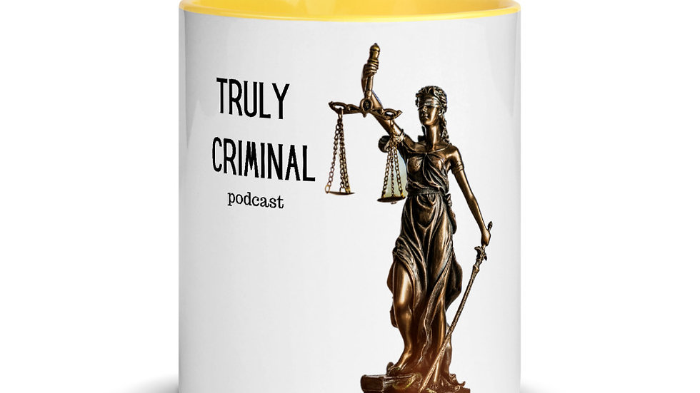 Truly Criminal Logo Mug with Color Inside