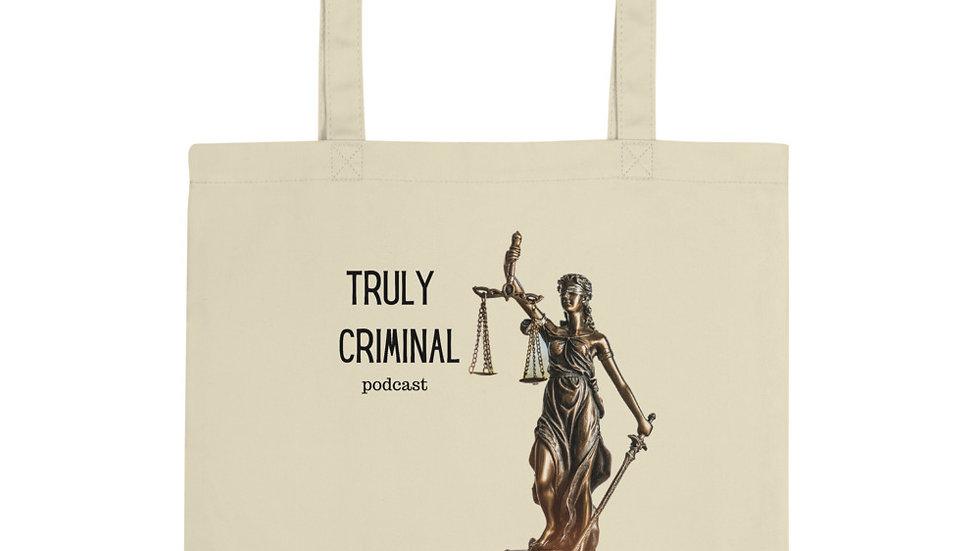 Truly Criminal Logo Eco Tote Bag