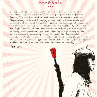 Start Wars; Grow Art!! Manifesto