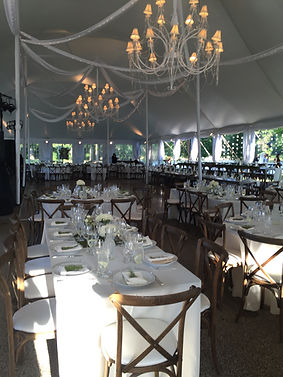 Outdoor Tented Wedding
