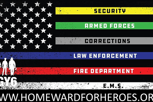 Homeward For Heroes Patches