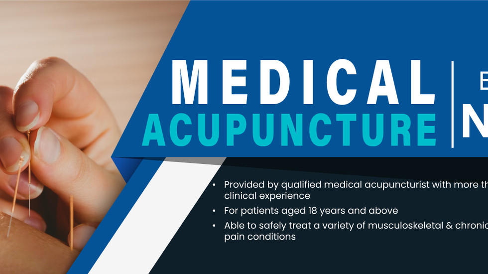 Medical Acupuncture now available at Doctors at Australia Fair