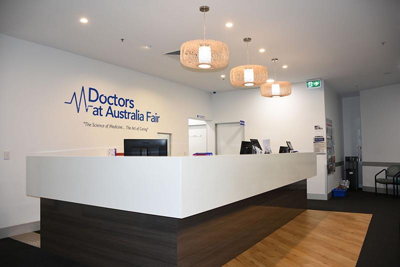 Doctors at Australia Fair Reception