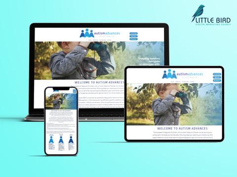 Autism Advances website