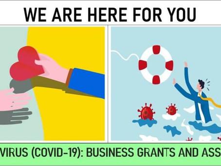 CORONAVIRUS: Covid-19 Business Grant & Assistance