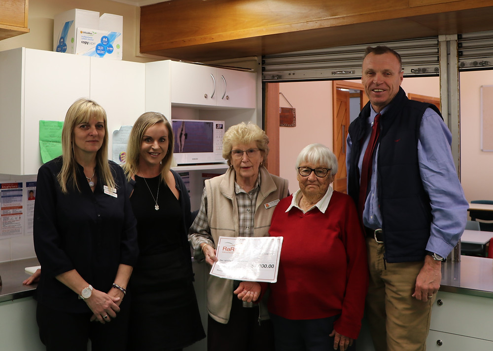 Lightning Ridge Breakfast Club Donation from RaRMS
