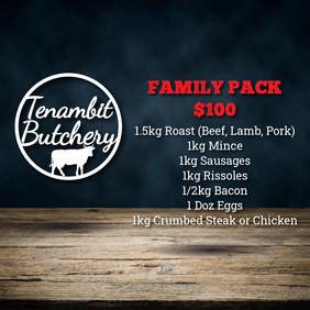 Tenambit Butchery Family Pack