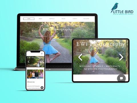 EWi Photography website
