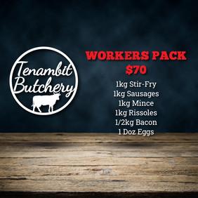 Tenambit Butchery Workers Pack