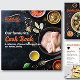 recipe book graphic design