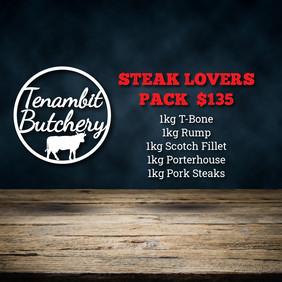 Tenambit Butchery Steak Lovers Pack