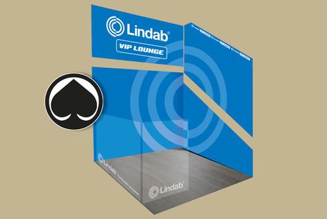 Lindab - Vip Lounge Ässien halliin