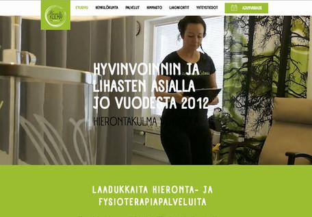 Hierontakulma www-sivusto
