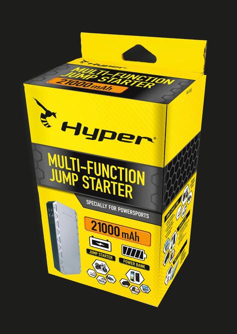 Hyper - Pakkausdesign