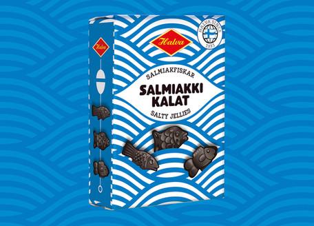 Halva - Salmiakkikalat