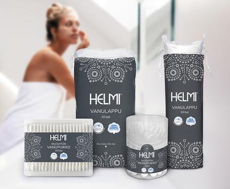 Helmi - pakkausdesign