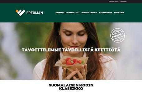 Fredman - Kuluttajapuolen www-sivusto