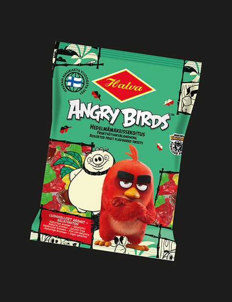 Halva - Rovio - Angry Birds Hedelmäsekoitus pussi