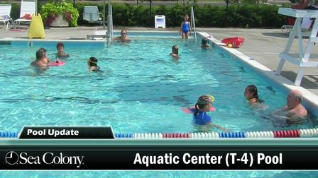 Aquatic Center Heated Pool Remains Open Through October