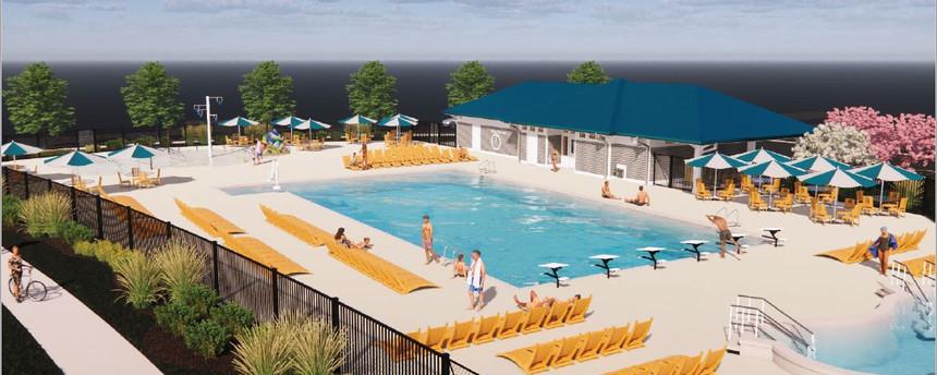 Aquatic Center - T4 Redesign