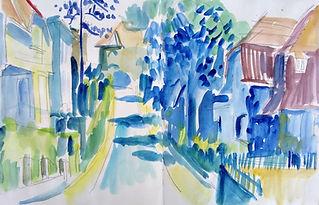 Illustratie straat