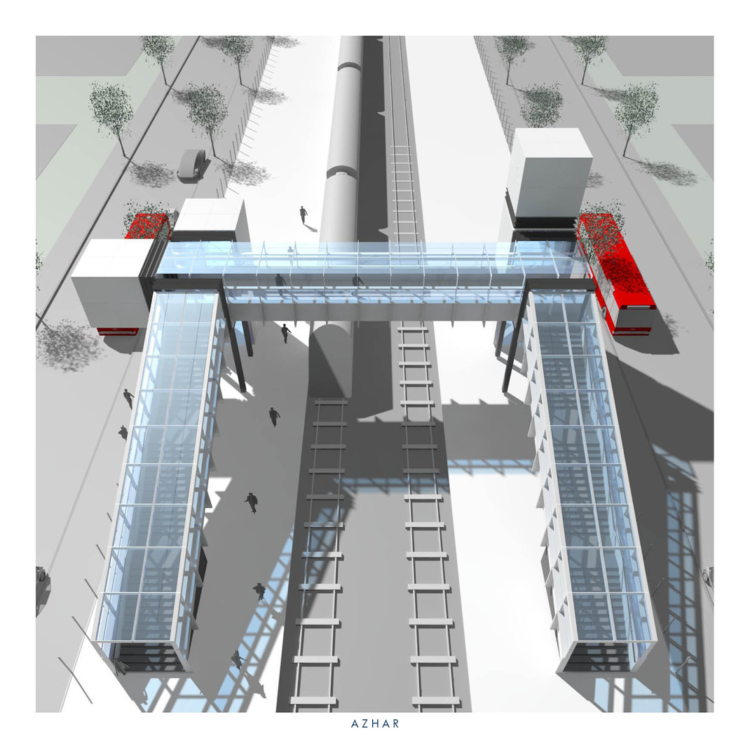 RAIL FOOTBRIDGE SYSTEM
