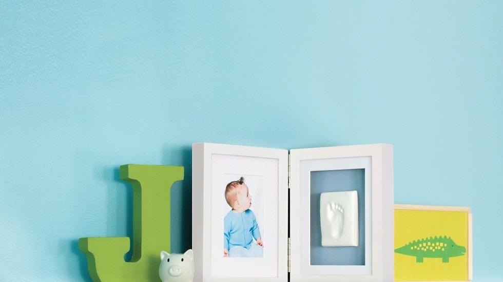 Pearhead Baby Prints Desk Frame White