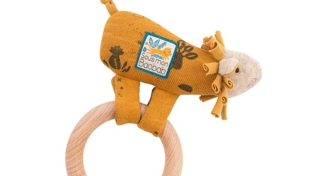 Moulin Roty Lion Ring Rattle