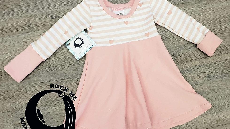 3-12m Rock Me Mamma & Baby Grow Dress