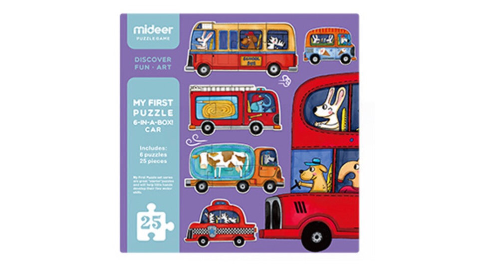 Mideer My First Puzzle Traffic