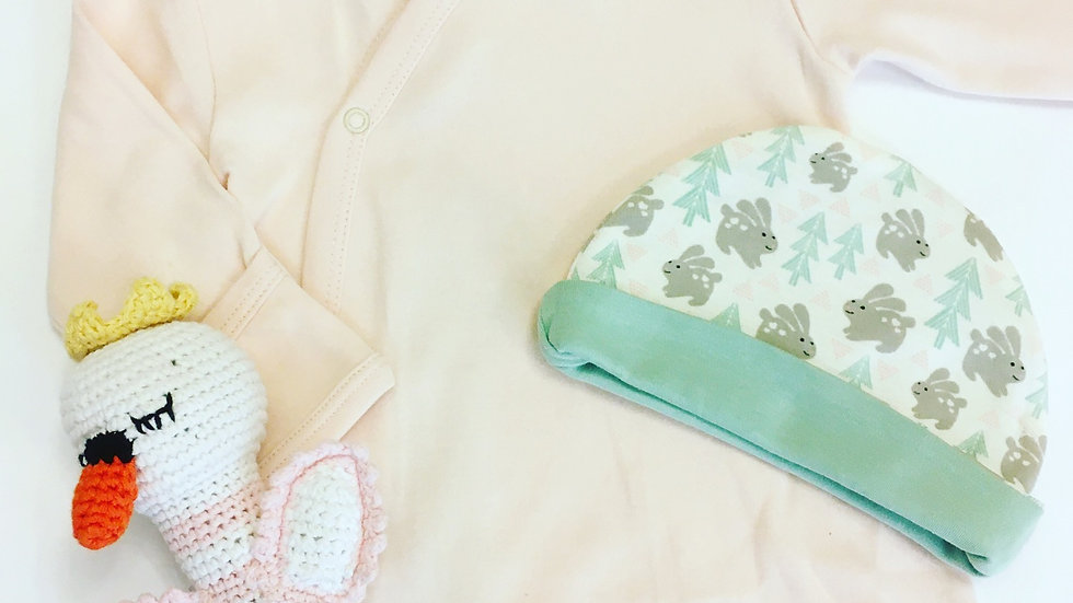 Pink Baby Gift 0-3m