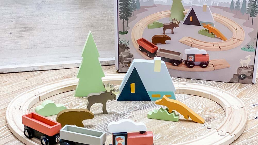 Tender Leaf Toys Treetop Train Set