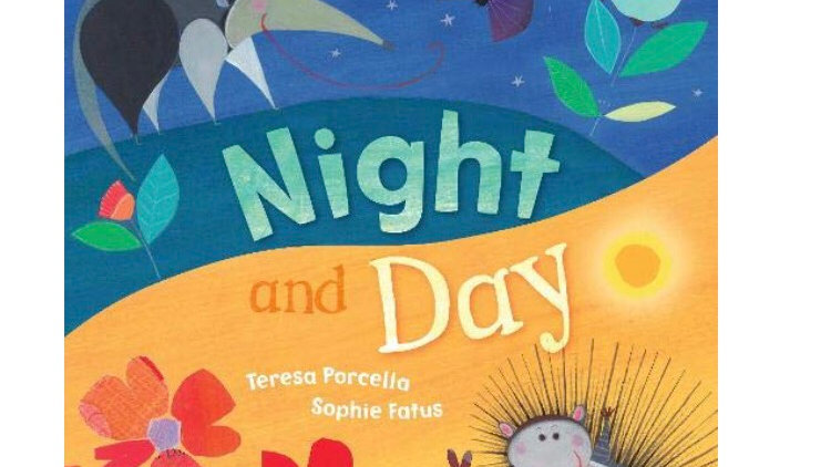 Barefoot Books Night and Day Board Book
