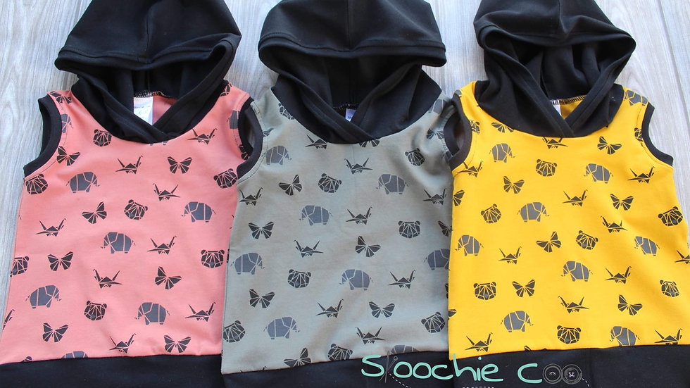 Skoochie Coo Grow Hoodie 0-12 months