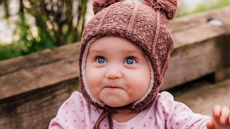 Twinklebelle Bear Pom Hat