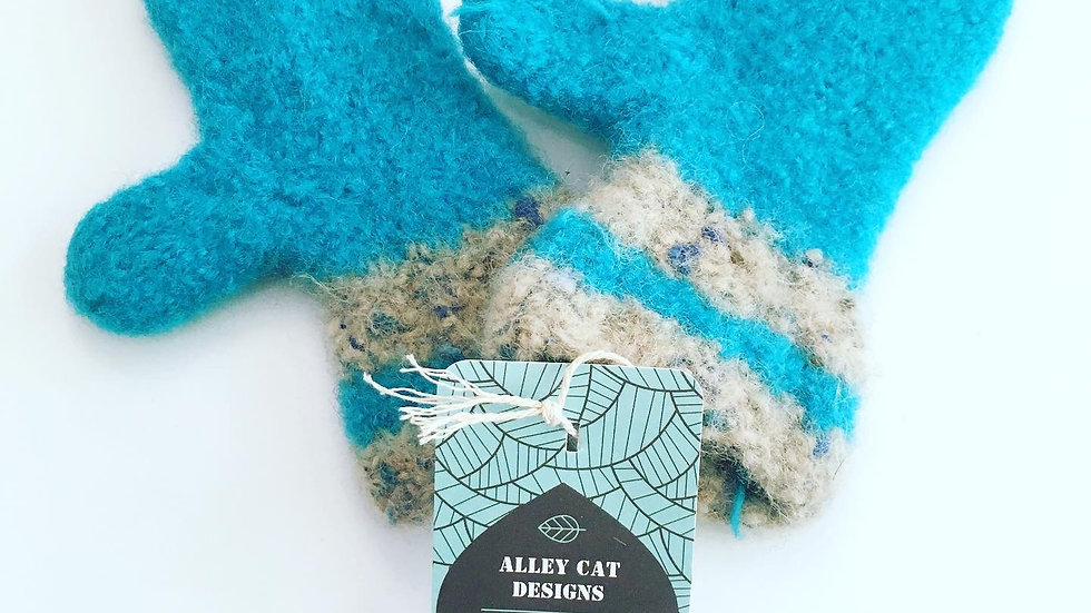 Alley Cat Designs Knitted XSmall Mitts