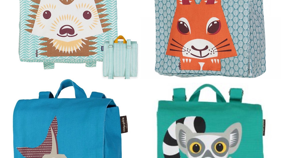 Coq en Pâte Organic Cotton Back Packs