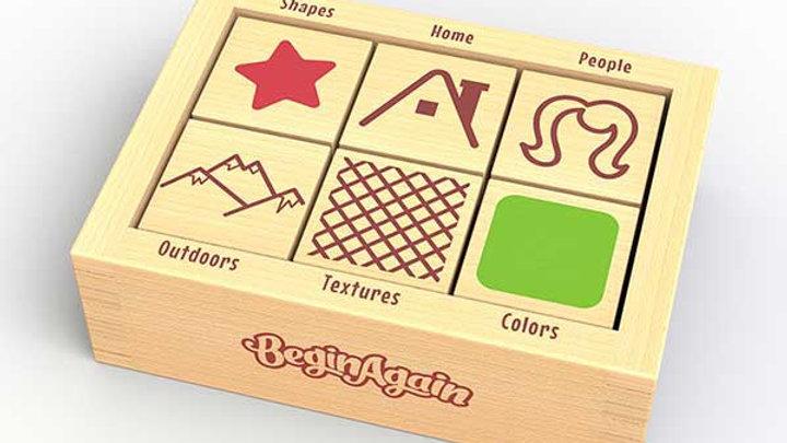 BeginAgain Art Dice Drawing Game