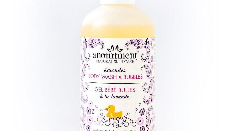 Anointment Body Wash & Bubbles - Lavender