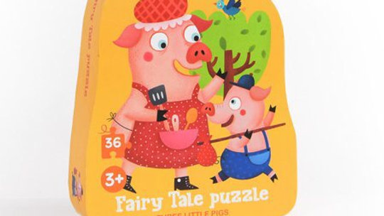 Mideer 3 Little Pigs Puzzle 3+