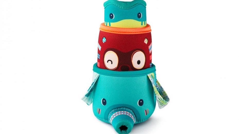 Lilliputie 3 Jungle Cups Bath Toy