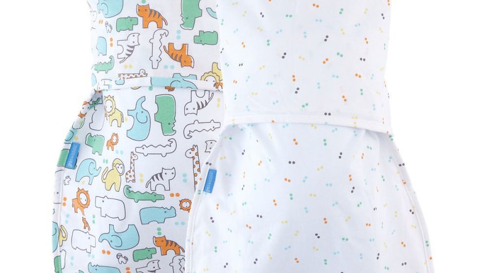 Groswaddle Hip Healthy Animal 2 Pack