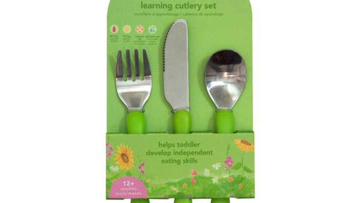 Green Sprouts Learning Cutlery Set