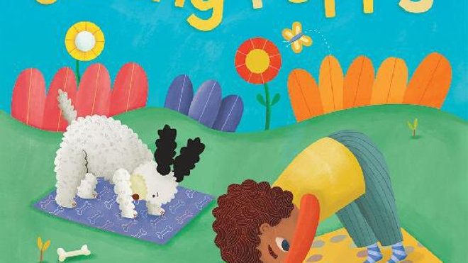Barefoot Books Yoga Tots Strong Puppy Board Book