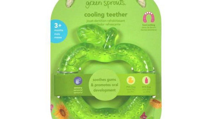 Green Sprouts Cooling Teether Apple