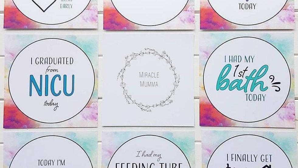 Preemie Milestone Cards