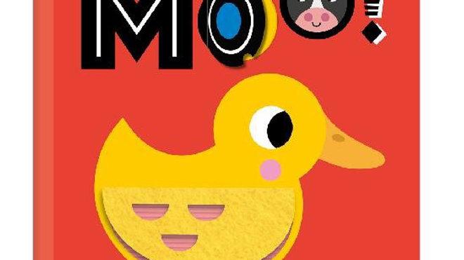 Flap-a-doodle Moo Board Book