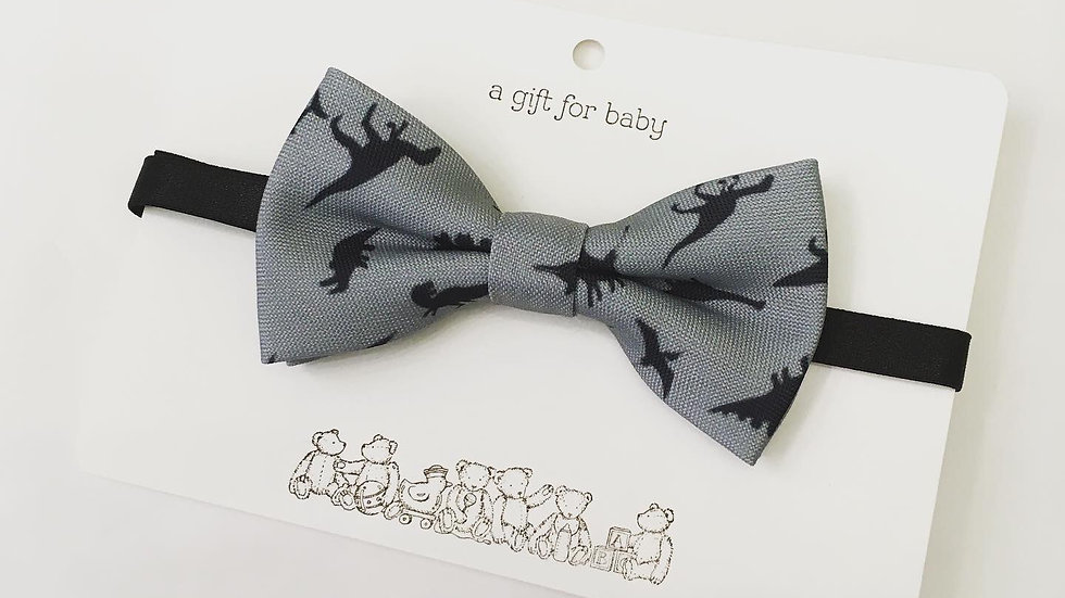 Child's Bow Tie Animal Print