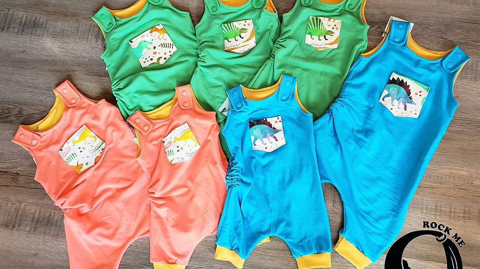 Rock Me Mamma & Baby Grow Shorts Romper 3-12m